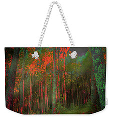 Autumn In The Magic Forest Weekender Tote Bag
