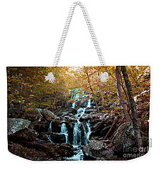 Autumn In The Mountains Weekender Tote Bag by Rebecca Davis