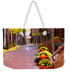 Autumn In The North End Weekender Tote Bag