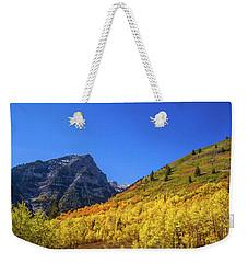 Autumn In The Rockies Weekender Tote Bag
