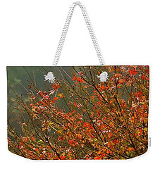Autumn In Volcano, Hawaii  Weekender Tote Bag