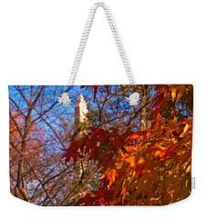 Autumn In Washington Weekender Tote Bag