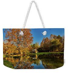 Autumn In West Virginia Weekender Tote Bag by L O C