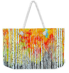 Autumn Weekender Tote Bag by Jackie Carpenter