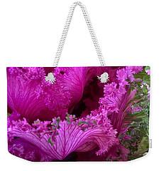 Autumn Kale Weekender Tote Bag by Patricia E Sundik
