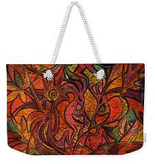 Autumn Kokopelli Weekender Tote Bag