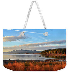 Autumn Lake Tahoe Weekender Tote Bag