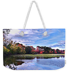 Autumn Landscape 3 Weekender Tote Bag by Mikki Cucuzzo
