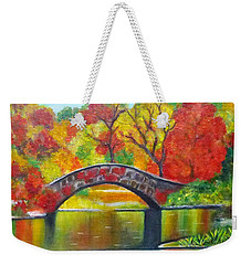 Autumn Landscape -colors Of Fall Weekender Tote Bag