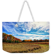 Autumn Landscape Weekender Tote Bag by Nikki McInnes