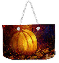 Autumn Landscape Painting Weekender Tote Bag by Annie Zeno