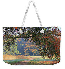 Autumn Landscape With Colored Trees In Park, Netherlands Weekender Tote Bag