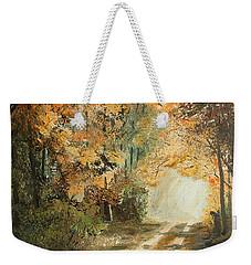 Autumn Lane Weekender Tote Bag