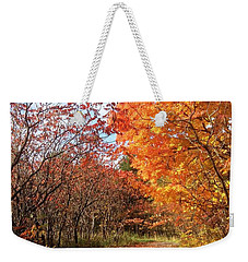 Autumn Lane Weekender Tote Bag