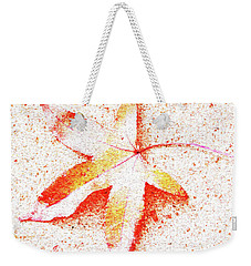 Autumn Leaf Art Weekender Tote Bag