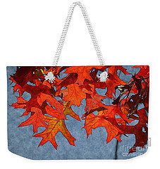 Autumn Leaves 19 Weekender Tote Bag by Jean Bernard Roussilhe