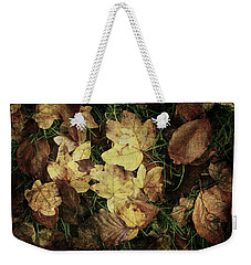 Autumn Leaves Are Falling Down... Weekender Tote Bag