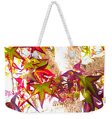 Autumn Leaves Experiment 2 Weekender Tote Bag