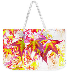 Autumn Leaves Experiment Weekender Tote Bag