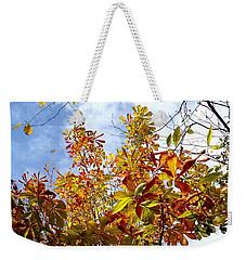 Autumn Leaves In Bellingham Weekender Tote Bag