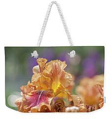 Autumn Leaves Iris Flower. The Beauty Of Irises  Weekender Tote Bag