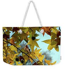 Autumn Leaves Weekender Tote Bag by Joanne Coyle