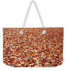 Autumn Leaves Weekender Tote Bag by Marilyn Wilson
