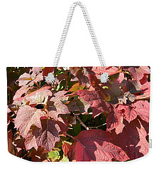 Autumn Leaves Weekender Tote Bag by Nance Larson