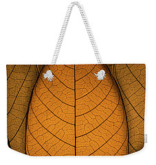 Weekender Tote Bag featuring the photograph Autumn Leaves by Paul Wear