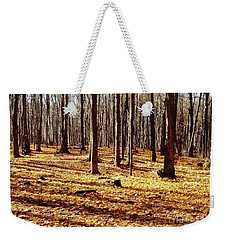 Autumn Leaves Weekender Tote Bag by Vicky Tarcau