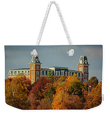 Autumn Light At Old Main Weekender Tote Bag