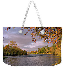 Autumn Light By The River Ness Weekender Tote Bag