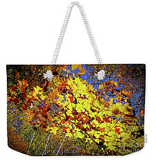 Autumn Light Weekender Tote Bag