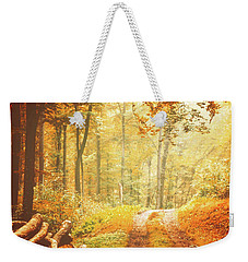 Autumn Lights Weekender Tote Bag