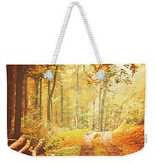 Autumn Lights Weekender Tote Bag