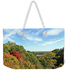 Autumn Lookout Weekender Tote Bag