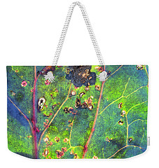 Weekender Tote Bag featuring the photograph Autumn Magic Colors by Raffaella Lunelli