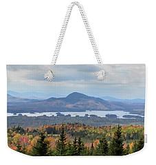 Autumn Maine Landscape Weekender Tote Bag