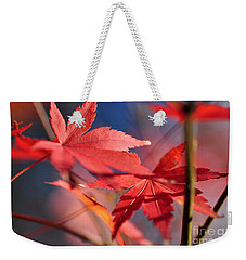 Autumn Maple Weekender Tote Bag by Kaye Menner