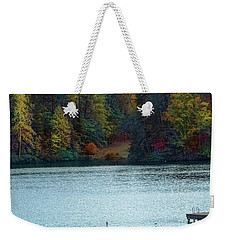 Autumn Weekender Tote Bag by Melissa Messick
