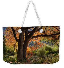Autumn Memories Weekender Tote Bag