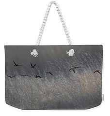 Autumn Migration Weekender Tote Bag