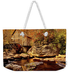 Autumn Mill Weekender Tote Bag by L O C