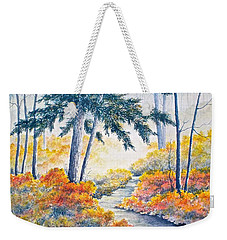 Autumn Mist Weekender Tote Bag