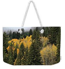Autumn Mist, Owyhee Mountains Weekender Tote Bag