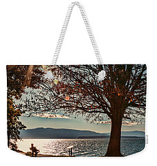 Autumn Moment Weekender Tote Bag