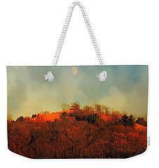 Autumn Moonrise Weekender Tote Bag