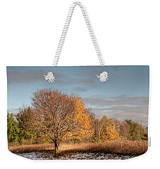 Autumn Morning Weekender Tote Bag by Ann Bridges