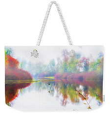 Autumn Morning Dream Weekender Tote Bag