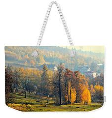 Autumn Morning Weekender Tote Bag